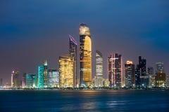 Skyline Abu Dhabi Lizenzfreies Stockfoto