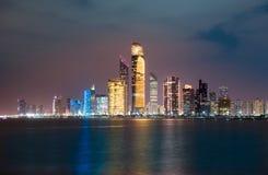 Skyline Abu Dhabi Stockfotografie