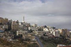 Skyline Ammans Jordanien lizenzfreie stockfotos