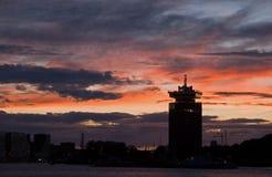 Skyline Amsterdam Stockbilder