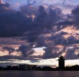 Skyline Amsterdam Stockfotos