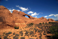 Skyline Arch in Arches National Park Stock Images