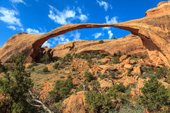 Skyline Arch. Arches National Park. Utah. Royalty Free Stock Photography