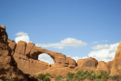 Skyline arch, arches national park, utah, usa Stock Image