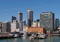 Skyline, Auckland, Neuseeland Lizenzfreie Stockbilder