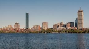 Skyline of Back Bay Boston, Massachusetts Stock Image