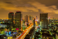 Skyline in Bangkok. Royalty Free Stock Image