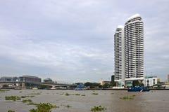 Skyline of Bangkok Royalty Free Stock Image