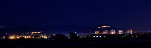 Skyline in Basilicata Royalty Free Stock Photos