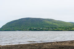 Skyline of Bear Mountain State park From Fort Montgomery in Upst Stock Photography