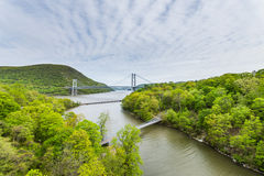 Skyline of Bear Mountain State park From Fort Montgomery in Upst Stock Image
