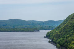Skyline of Bear Mountain State park From Fort Montgomery in Upst Royalty Free Stock Photography