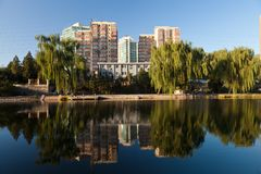 Skyline of Beijing Royalty Free Stock Photos