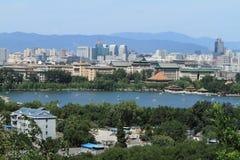 The Skyline of Beijing Royalty Free Stock Photos