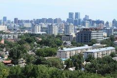 The Skyline of Beijing Royalty Free Stock Photo