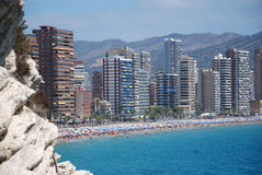 Skyline Benidorm Stock Photo
