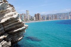 Skyline Benidorm Royalty Free Stock Photo