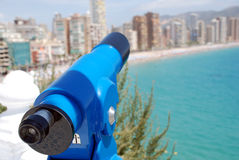 Skyline Benidorm Stock Photos