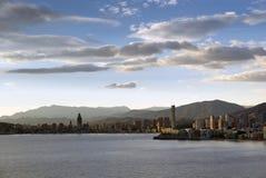 Skyline Benidorm Stock Images