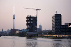 Skyline Berlin Stock Photo