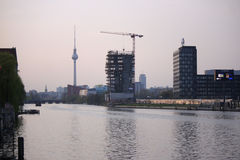 Skyline Berlin Stock Image