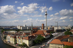 Skyline Berlin Royalty Free Stock Photo