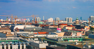 Skyline of Berlin Royalty Free Stock Images