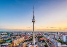 Skyline Berlins, Deutschland stockfotografie