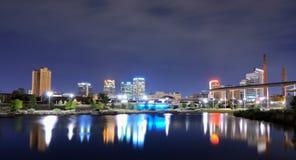 Skyline Birmingham-, Alabama stockfotos