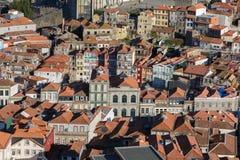 Skyline bonita de Porto - telhados e centro da cidade, Portugal Imagens de Stock Royalty Free