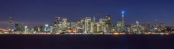 Skyline bonita de San Francisco Fotografia de Stock Royalty Free