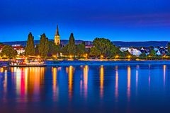 Skyline of Bonn, Germany Royalty Free Stock Images