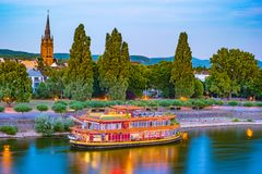 Skyline of Bonn, Germany Royalty Free Stock Photography
