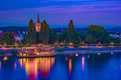 Skyline of Bonn, Germany Stock Image