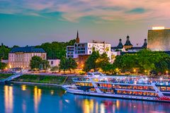Skyline of Bonn, Germany Stock Images