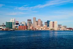 Skyline of boston Royalty Free Stock Photography