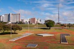 Skyline of Brasilia Royalty Free Stock Image