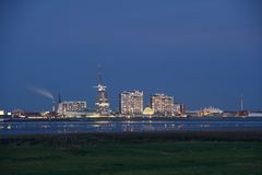 Skyline Bremerhaven Royalty Free Stock Photography