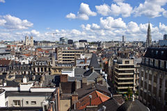 Skyline of Brussels Stock Images