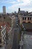 Skyline of Brussels, Belgium Stock Photography