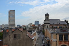Skyline of Brussels, Belgium Royalty Free Stock Photo