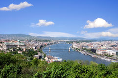 Skyline of budapest Royalty Free Stock Images