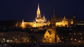 Skyline Budapest Stockfotos