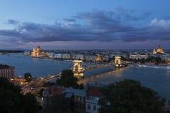 Skyline of Budapest - Hungary Stock Photos