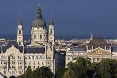 Skyline of Budapest - Hungary Royalty Free Stock Photography