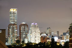 Skyline of Buenos Aires Royalty Free Stock Photos