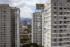 Skyline and Buildings of Caracas Stock Images