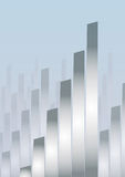 Skyline business (vector). Skyline business (from cmyk to rgb Royalty Free Stock Images