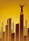 Skyline business (vector) Stock Photo