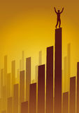 Skyline business (vector) Stock Photography